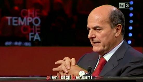 Che tempo che fa, domenica 16 marzo: Pier Luigi Bersani e Giovanni Floris, tra gli ospiti