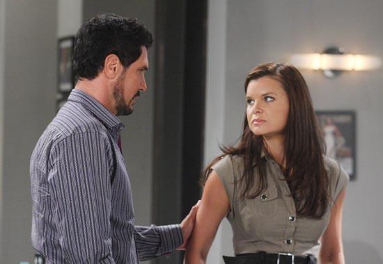 Beautiful anticipazioni, puntata 17 marzo: Katie non perdona Bill e chiede il divorzio