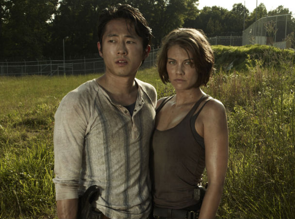The Walking Dead 4: Lauren Cohan parla dell'amore tra Maggie e Glenn