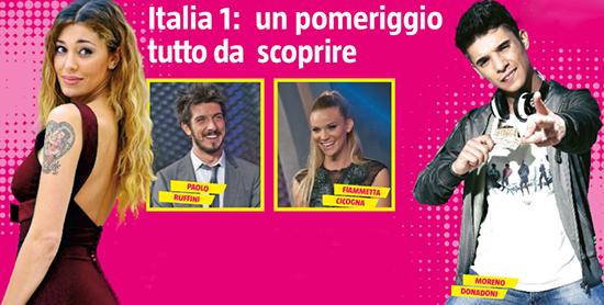 Belen Rodriguez, Paolo Ruffini e Moreno Donadoni al timore di nuovi programmi su Italia 1: tutte le info