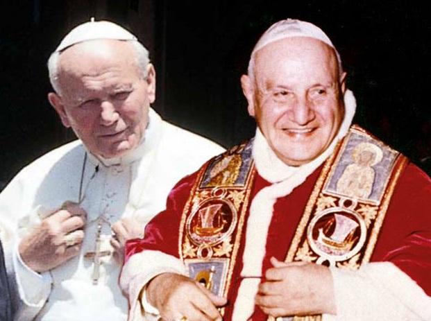 Canonizzazione Giovanni XXIII e Giovanni Paolo II: programmazione tv oggi 26 aprile
