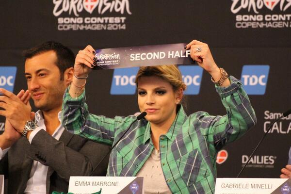 Eurovision Song Contest 2014, Emma rappresentante dell'Italia: diretta tv dal 6 al 10 maggio