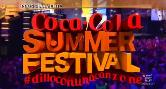 Coca Cola Summer Festival, dal 7 luglio tutta la musica dell'estate su Canale 5