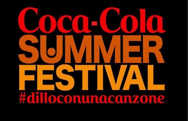 Coca Cola Summer Festival, lunedì 30 giugno quarto ed ultimo appuntamento: ecco gli artisti