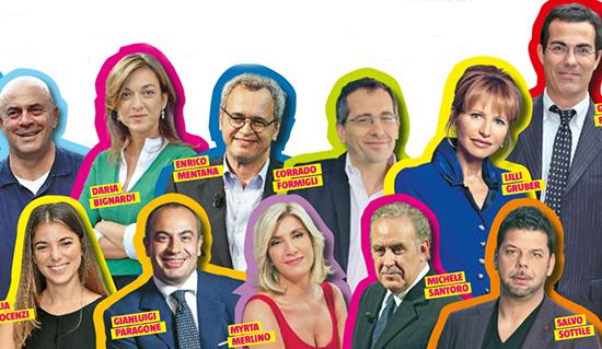 Palinsesto La7, ecco la lista dei programmi confermati e i nuovi arrivi: Simona Ventura e Giovanni Floris
