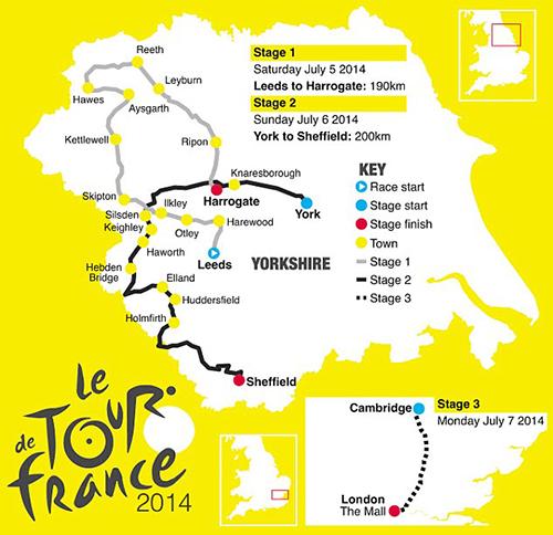 Tour de France 2014: la programmazione Rai dal 5 al 27 luglio, diretta tv e streaming