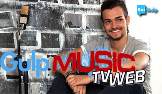 Valerio Scanu oggi 26 luglio 2014 ospite a Gulp Musica a partire dalle 13.45