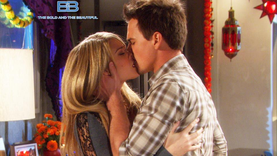 Beautiful anticipazioni, puntata 1 luglio: il bacio tra Hope e Wyatt
