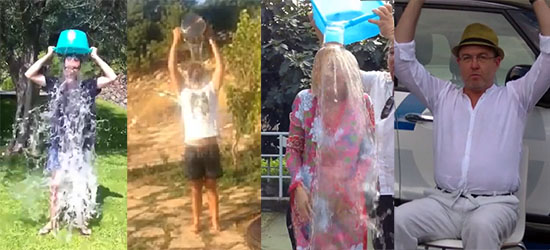 Che tempo che fa: Fazio, Luciana Littizzetto, Fabio Volo e Gramellini partecipano all'Ice Bucket Challenge – VIDEO