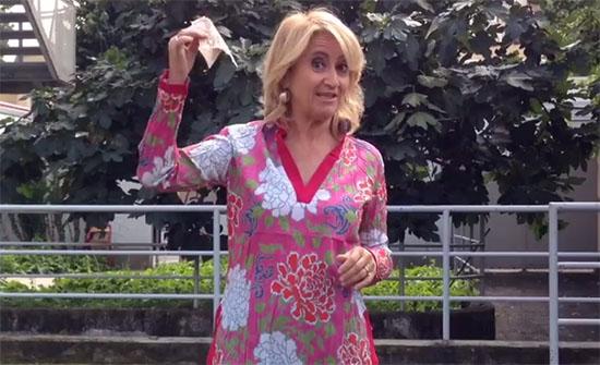 """Luciana Littizzetto replica alle polemiche sul suo Ice Bucket Challenge: """"100 euro? Sono stata ingenua"""""""