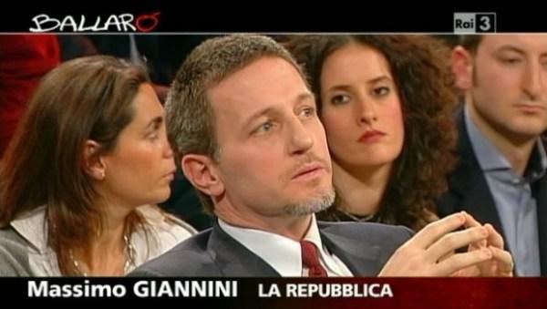Ballarò ha il suo nuovo conduttore, Massimo Giannini: partenza dal 16 settembre?