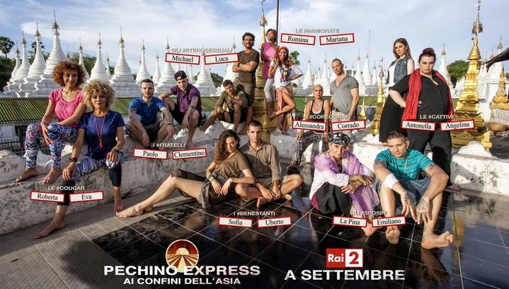 Pechino Express 3: ecco chi sono i nomi dei concorrenti delle otto coppie in partenza