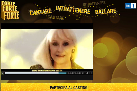 Raffaella Carrà, aperti i casting per partecipare a Forte forte forte: ecco come fare