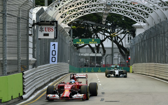 Formula 1, GP Singapore 2014: la gara in diretta tv e streaming su Sky e Rai