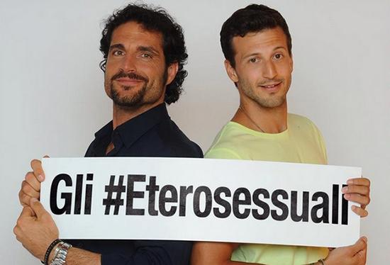 Pechino Express 3, gli Eterosessuali: la scheda di Michael Lewis e Luca Betti