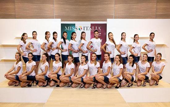 Miss Italia 2014: ecco chi sono le 24 concorrenti a contendersi la finale – FOTO