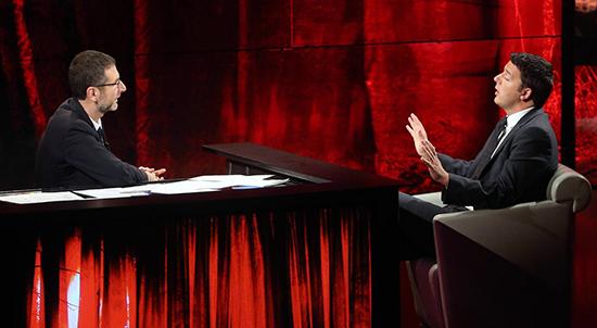 Che tempo che fa anticipazioni, domenica 28 settembre 2014: Matteo Renzi e Dino Zoff tra gli ospiti