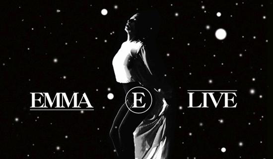 Emma Marrone: esce oggi E Live CD+DVD, ecco la tracklist e le date dell'INSTORE
