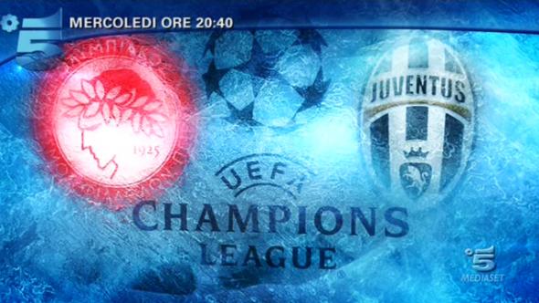 Calcio in Tv, Champions League oggi 22 ottobre: Olympiacos-Juventus e tutte le partite in diretta tv e streaming