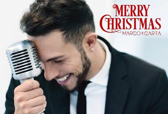 Marco Carta: l'1 dicembre 2014 'Merry Christmas', l'EP natalizio del cantante – la TRACKLIST