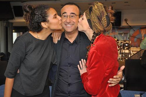 Sanremo 2015, Erika Mineo (Amara) e Chantal Saroldi (Chanty) le vincitrici di Area Sanremo