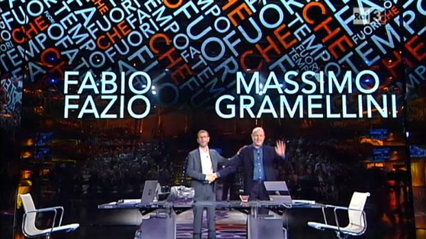 Che fuori tempo che fa, anticipazioni 17 gennaio: Alessandro Gassman tra gli ospiti
