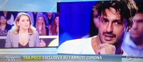"""Pomeriggio Cinque, Barbara d'Urso su Fabrizio Corona: """"Ha chiesto che non si parli più di lui"""""""