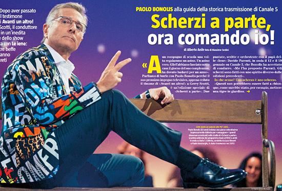 Paolo Bonolis racconta Scherzi a Parte, in onda il 12 e il 19 gennaio 2015: 'E' cambiato tutto, spettacolo moderno'