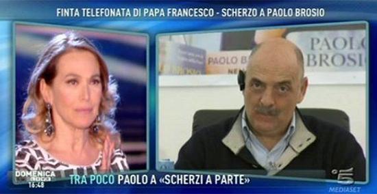 Barbara d'Urso non cita Paolo Bonolis ma solo Scherzi a parte e parla di Fabrizio Corona: perdonato davvero?