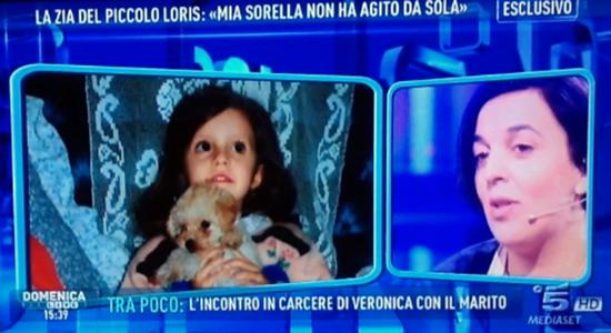Domenica Live e il Caso Loris Stival con la sorella di Veronica Panarello: 'Se è stata lei non ha fatto tutto da sola'
