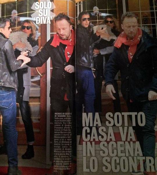 Alessia Marcuzzi, è scontro tra Francesco Facchinetti ed il neo marito: ennesima bufala, ecco la verità