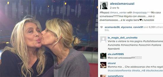 Isola dei Famosi 2015: Mara Venier e Alessia Marcuzzi litigano prima della diretta? Ma anche no, ecco perché
