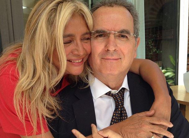 Lamberto Sposini insieme a Mara Venier su Instagram: il giornalista sta meglio