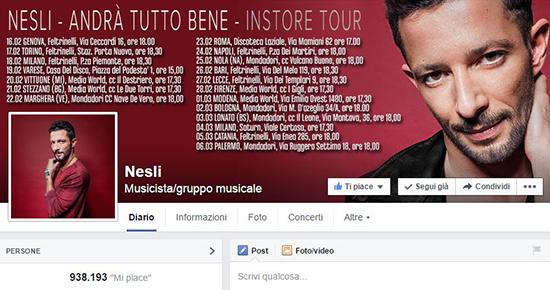Sanremo 2015, i cantanti più amati sui social: Nesli al primo posto, ultima Grazia Di Michele