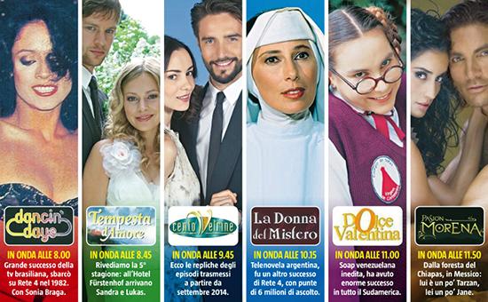 Novela, dal 2 febbraio la televisione dedicata alle soap: ecco tutta la programmazione