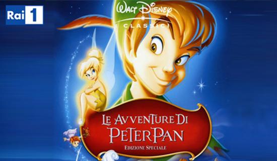 Film in Tv: Le avventure di Peter Pan, oggi 5 gennaio 2015 su RaiUno dalle 21.10