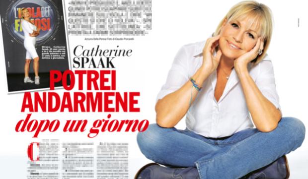 Isola dei Famosi 2015: Catherine Spaak e le sue regole, Cristiano Malgioglio ospite-badante?