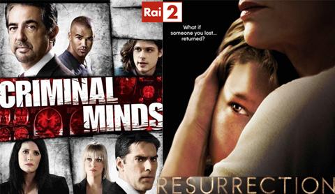 Serie Tv, stasera 4 febbraio: finale nona stagione Criminal Minds e Resurrection su RaiDue, le anticipazioni