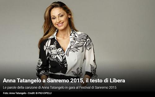 """Festival di Sanremo 2015, i Testi: Anna Tatangelo con """"Libera"""""""