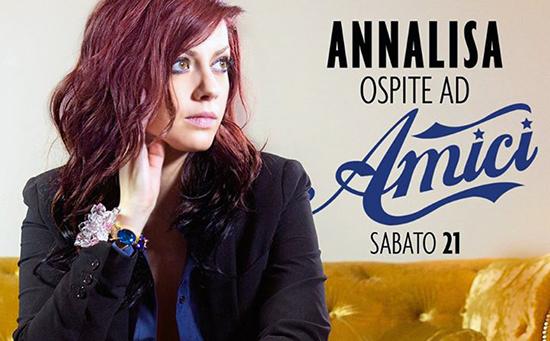 Anticipazioni Amici 14: Annalisa Scarrone ospite del talent show