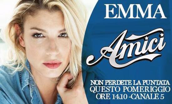 Anticipazioni Amici 14, sabato 21 febbraio: Emma Marrone ed Elisa coach, Giorgio e Klaudia al serale