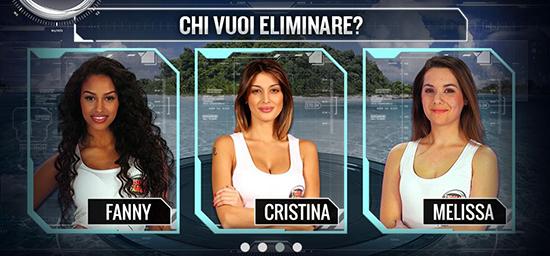 Anticipazioni Isola dei Famosi 2015, puntata 23/02: chi uscirà tra Fanny, Cristina e Melissa? diretta streaming