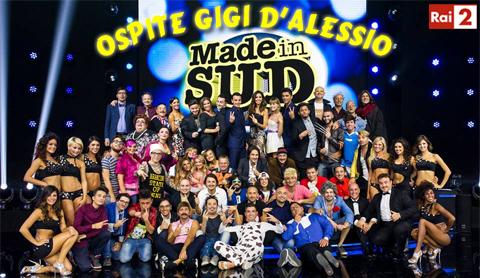 Anticipazioni Made in Sud del 17 marzo: comici e Gigi D'Alessio ospite, la replica streaming