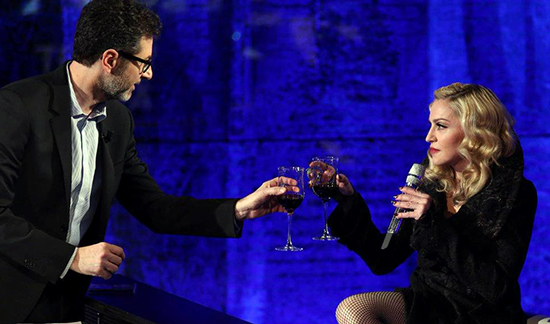 Anticipazioni Che tempo che fa, 8 marzo 2015: Madonna ospite di Fabio Fazio, diretta streaming