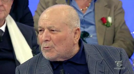 Uomini e Donne: è morto Santo Bonsignore del trono over, Giuliano Giuliani chiede scusa a Maria De Filippi