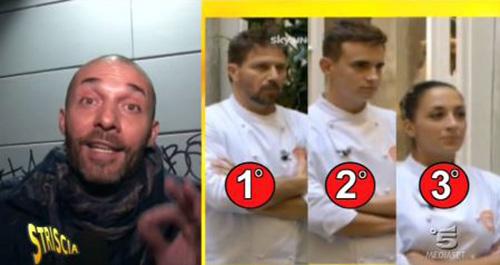 MasterChef 4, il vincitore è… super spoiler di Striscia la Notizia: la reazione di Cracco, Barbieri e Bastianich – VIDEO