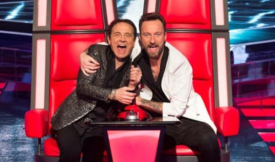 The Voice of Italy 2015: Roby e Francesco Facchinetti vera rivoluzione del talent: 'Musica a 360 gradi, dalla A alla Z'