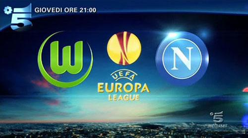 Europa League in Tv, Wolfsburg – Napoli in diretta tv e streaming del 16 aprile