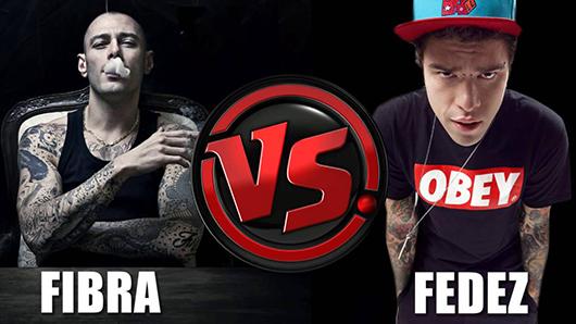 Fabri Fibra VS Fedez a suon di dissing: l'odio per i rapper banali per chi li produce e segue