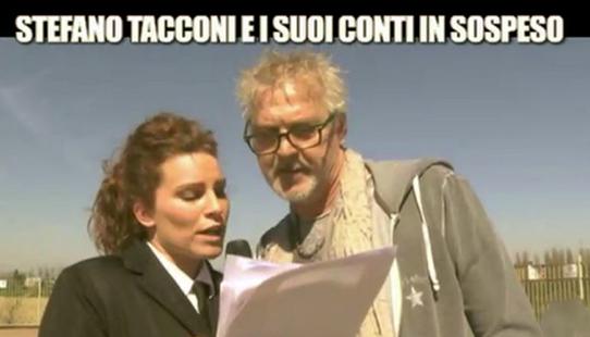 Le Iene, Stefano Tacconi e la lunga fila di debitori, la moglie Laura accusa: 'Li avete pagati voi!' – VIDEO